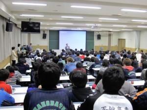 今回の講座を活かして学生生活を送ってほしいです。