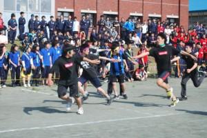 体育祭のクライマックス「リレー競技」