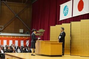 Photo.1 入学生宣誓